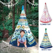 キッズテント NATIVE TENT / FLOWER TENT