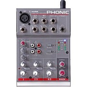 AM55(PHONIC)【税込】 フォニック コンパクトミキサー PHONIC 1-Mic/Line 2-Stereo Compact Mixer AM55 [AM55PHONIC]【返品種別A】【...