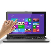 "《英語版PC/English OS》 Toshiba Satellite 「E55T-A5320」15.6"" Touch-Screen Laptop i5 2.6GHz Windows 8.1 【並行輸入品】"