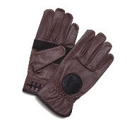 【LOSER MACHINE】ルーザーマシーン【Death Grip Leather Gloves】Brown【レザーグローブ】グローブ【手袋】バイカー【CHOPPER...