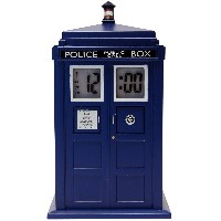 DOCTOR WHO Tardis Projection Alarm Clock (DR190)
