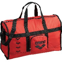 arena(アリーナ) 水泳用 ポケッタブル デリバリー バッグ レッド ARN-6438 RED