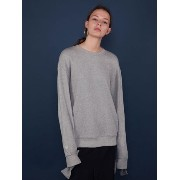 CUFFS STRING SWEATSHIRT GREY MOHAN バイマ BUYMA