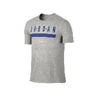 NIKE AIR JORDAN AMERICANA TEE ナイキ エアジョーダン アメリカーナ Tシャツ DARK GREY HEATHER/DEEP ROYAL BLUE