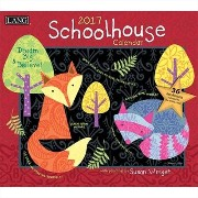 《2017年 カレンダー》ラング LANG/SCHOOL HOUSE Susan Winglet ラング LANG/SCHOOL HOUSE Susan Winglet