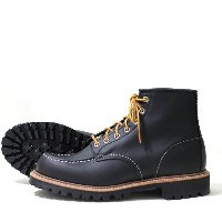 "RED WING(レッドウィング)8176 6""Moc-toe Lug-sole Black"