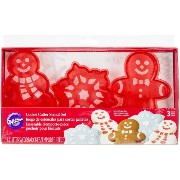 Stencil Cookie Cutter Set 3/Pkg-Christmas (並行輸入品)