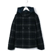 Herno Kids checked coat