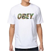 Obey Traditional Font Camo White T-Shirtオベイ Tシャツ OBEY(オベイ) バイマ BUYMA