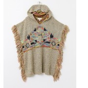 Sonny Label freeway TRIBAL PRINT PONCHO【アーバンリサーチ/URBAN RESEARCH ポンチョ・ケープ】