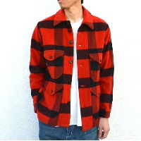 ohh!nisica(オオニシカ)/ クルーザーJACKET -RED CHECK-