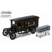 Precision Collection 1921年モデル フォード T型 霊柩車1921 Ford Model T Ford Ornate Carved Hearse Sunset Coach 1/18 by Precision Collection...