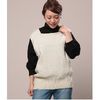 【Yarmo】sleeveless knit