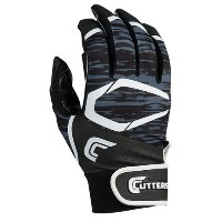 カッターズ メンズ 野球 グローブ 手袋【Cutters Power Control 2.0 Batting Gloves】Black/White【10P03Dec16】