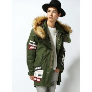 BROWNY VINTAGE 【BROWNY VIN】(M)ワッペンモッズコート ウィゴー【送料無料】