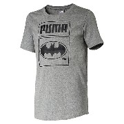プーマ BATMAN PACK TD TEE メンズ Medium Gray Heather