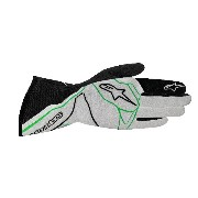 alpinestars(アルパインスターズ) TECH 1-Z GLOVES GRAY FLOW/GREEN/BLACK L3550016-967-L