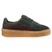 プーマ SUEDE CREEPERS ウィメンズ green-bordeaux-gum