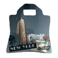 ワタナベ Envirosax Travel Bag New York EVRECO-TR-B6 エコバッグ (Men's、Lady's)