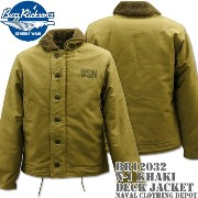 BUZZ RICKSON'S(バズリクソンズ)DECK JACKET N-1 Khaki『NAVAL CLOTHING DEPOT』DEMOTEX-ED BR12032 10P03Dec16