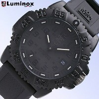 LUMINOX/ルミノックス3051BLACKOUT/ブラックアウト(ラバーベルト) SWISS QUARTZ/Navy SEALs DIVE WATCH 3050 COLORMARK SERIES T25表...