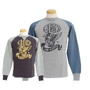 TOYS McCOY トイズマッコイ ロングスリーブ・長袖シャツ PADDED SWEAT SHIRT BECK FLYING WHEEL 【smtb-k】【kb】