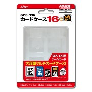 3DSLL/3DS/DS用カードケース16+ARカード クリア