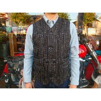 "【送料無料】 FREEWHEELERS(フリーホイーラーズ) ""Whitman/ホイットマン"" 1920〜30's MADE TO ORDER OUTDOOR NORFOLK VEST #1231017..."