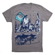 【Out of Print】 Lewis Carroll / Alice's Adventures in Wonderland Tee (Stone Grey)