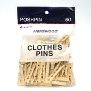 ■ WOOD CLOTHES PINS S (ウッド クロス ピン 木製 洗濯ばさみ S)