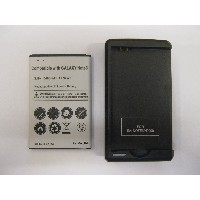 Galaxy Note 3 (docomo SC-01F / au SCL22) 共通 バッテリー+充電器セット 3400mAh Galaxy NoteIII USB出力付き SC11 SCL22UAA