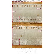 Linen100% natural CAFE LACE『リネン100%ナチュラルカフェレース』≪約30cm丈サイズ≫