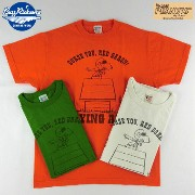 "No.BR76687 BUZZ RICKSON'S × PEANUTSバズリクソンズ×ピーナッツS/S T-SHIRT""FLYING ACE"""