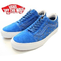【VANS】 OLD SKOOL REISSUE CA 【バンズ オールドスクール リイシュー】vn-0kw7awr (EMBOSSED CHECK) Snorkel Blue