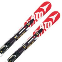 ATOMIC〔アトミック ジュニアスキー板〕<2015>REDSTER FIS DOUBLEDECK GS JR + X 12【金具付き・取付料送料無料】〔z〕