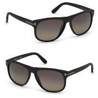 Tom Ford トムフォード サングラス Olivier TF 236 02D Matte Black / Smoke Polarized Lens FT0236