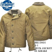 BUZZ RICKSON'S(バズリクソンズ)N-1 DECK JACKET Khaki BR12031-01 10P03Dec16