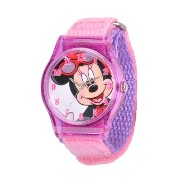 "ディズニー 腕時計 キッズ 時計 子供用 ミニー Disney Kids' W001268 ""Tween Minnie Mouse"" Watch with Pink Nylon Band"