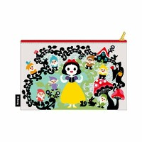Disney 白雪姫と七人の小人 Snow White and Seven Dwarfs Designed by Kinpro ポーチ(きのこ)
