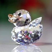 スワロフスキー 置物[Swarovski] Happy Ducks Angel Duck #swv5080327