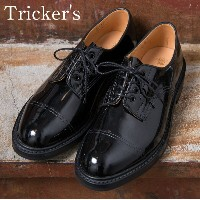 ★40%OFF♪SALE特価!正規品 Made in England【Tricker's】トリッカーズM7195 Cap Toe Country Enamel Shoes キャップトゥカント...
