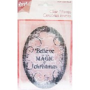 【2016 Winter Special SALE!!!】【6410-0116】Joy! Crafts/ジョイ・クラフツ/Clear Stamps/クリアスタンプ/Believe in the Magic Christmas...