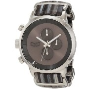 ベスタル 時計 男女兼用 腕時計 Vestal Unisex METCA05 Metronome Silver with Grey Acetate Chronograph Watch