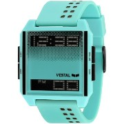 "ベスタル 時計 男女兼用 腕時計 Vestal Unisex DIG029 ""Digichord"" Watch with Aqua Band"
