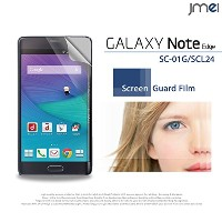 GALAXY Note Edge SCL24 au 対応 2枚セット!指紋防止高光沢保護フィルム 保護シート(ギャラクシーノートエッジ scl24 ...