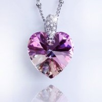7TYPE SWAROVSKI CRYSTAL スワロフスキークリスタル ネックレス (A type(BS001N-7))