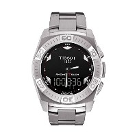 ティソ 腕時計 メンズ 時計 Tissot T-Touch Racing Stainless Steel Mens Watch T0025201105100
