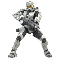 Halo 3 シリーズ 1 - Spartan Soldier Mark VI Armor (White)