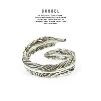 GARDEL ガーデル gdr077 NATURAL FEATHER RING PINKY RING/リング/Feather/フェザーSilver925/シルバーメンズ/レディースアクセサ...
