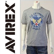 【送料無料】アビレックス DAMAGE AIR FORCE TEE ( AVIREX 6183101-16 )【smtb-tk】